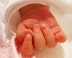 赤ちゃんの爪の切り方