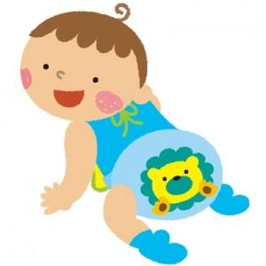 赤ちゃんの下痢が緑