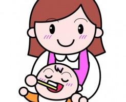 赤ちゃんの歯磨きいつから