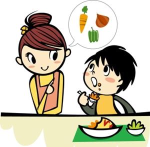 子供の野菜嫌い