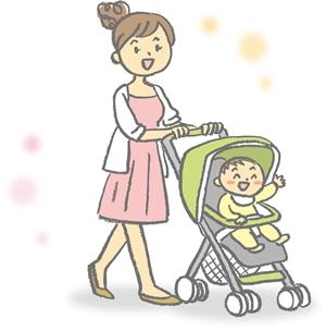 産後の外出