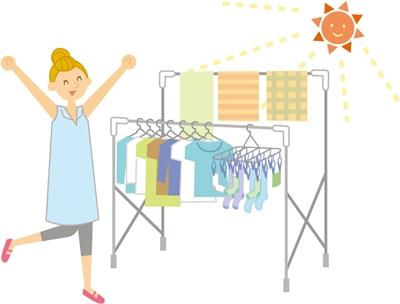 赤ちゃんの服の洗濯