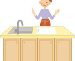 キッチンの排水溝の掃除