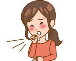 妊娠中の咳