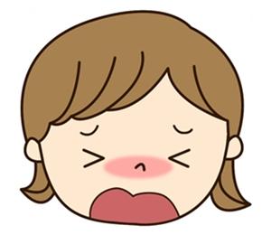 子供が鼻づまりで眠れない