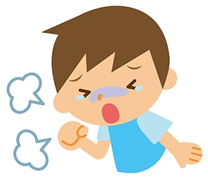 子供の喘息の原因と症状