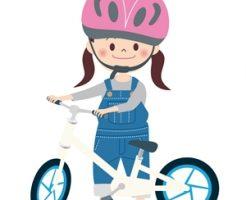 子供の自転車のヘルメット
