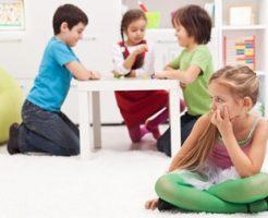 引っ込み思案な子供の原因
